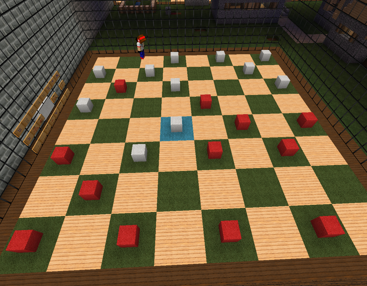 Checkers in Zyinx